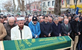 Murat Aydın ve Ekrem İmamoğlu cenazede bir araya geldi