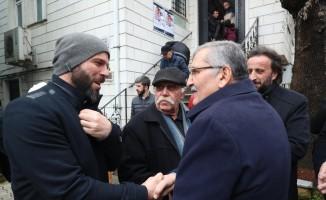 Murat Aydın'ın Çubuklu'daki esnaf ziyaretinde renkli anlar yaşandı