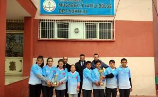 Musabeylili Öğrenciler Dart'ta birinci oldu