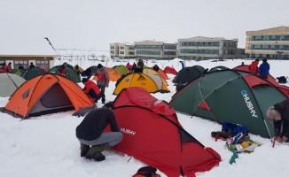 Muş'ta kış kampı