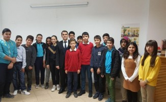 Okul meclis başkanlarıyla toplantı