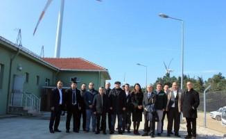 Özbekistan'dan SANKO enerji çatalca RES'e ziyaret
