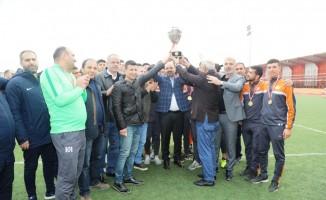 Şanlıurfa U-19 futbol takımının madalyaları verildi