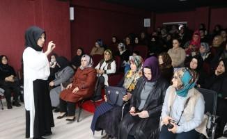 Şanlıurfa'da Kadınlara stres yönetimi semineri verildi
