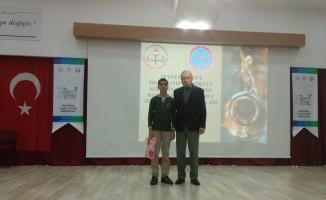 Şehit Fazıl Gürs İmam Hatip Ortaokulu öğrencisinin başarısı