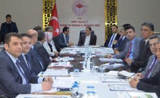 Siirt'te 2018 yılı tarım değerlendirme toplantısı yapıldı