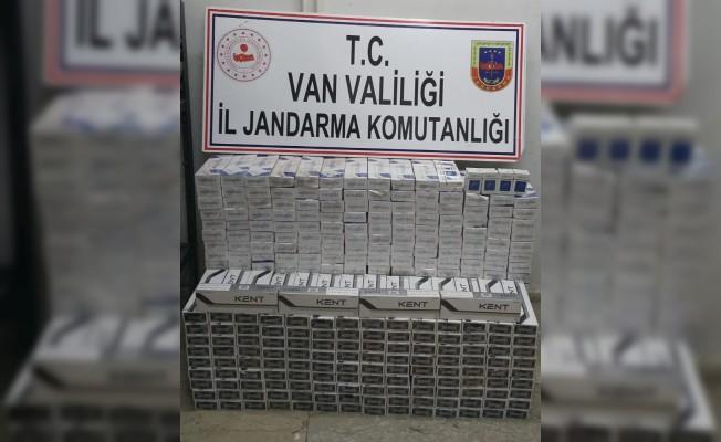 Sınır hattında kaçak sigara operasyonu
