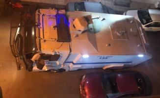 Sinop'ta yangına TOMA'lı müdahale