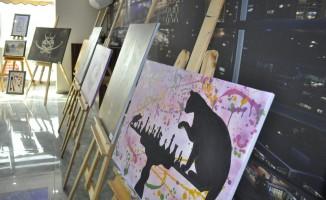 Siverek'te genç girişimci sanat ve hobi atölyesi açtı