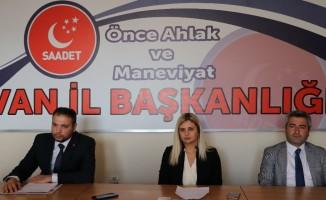 SP, İpekyolu Belediye Başkan adayını açıkladı