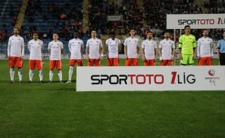 Spor Toto 1. Lig: Adanaspor: 1 - İstanbulspor: 0 (İlk yarı sonucu)