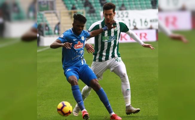 Spor Toto Süper Lig: Bursaspor: 0 - Çaykur Rizespor: 2 (Maç sonucu)