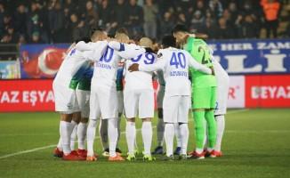 Spor Toto Süper Lig: Çaykur Rizespor: 1 - Evkur Yeni Malatyaspor: 0 (İlk yarı)