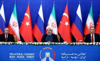 'Suriye' konulu Üçlü Zirve başladı