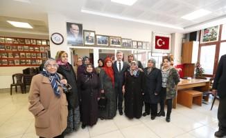 Tahmazoğlu, şehit ailelerini ve gazileri ziyaret etti