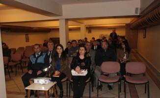 """Taşköprü'de """"Sıfır Atık"""" bilgilendirme toplantısı yapıldı"""