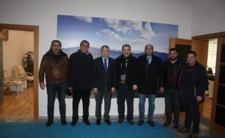 TATSO'dan Başkan Aksoy'a nezaket ziyareti