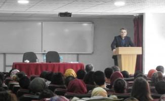 Tatvan'da aday öğretmenlere yönelik seminer