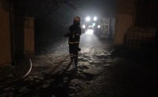 Tekirdağ'da köyde korkutan yangın