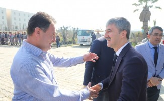 Turgutlu'da şantiye personellerinden ahde vefa hayrı