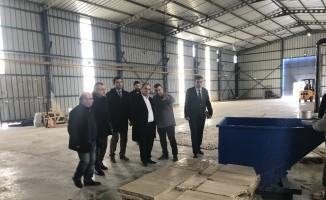 Turhal'da 6. mermer fabrikası faaliyete geçti