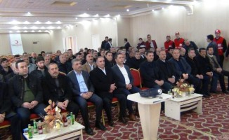 Türk Kızılay Erciş Şube Başkanlığına Kurbani Özdaş seçildi