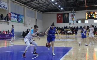 Türkiye Kadınlar Basketbol 1. Ligi: Elazığ İl Özel İdare: 87 - A Koleji: 60