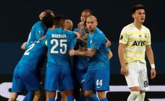 UEFA Avrupa Ligi: Zenit: 2 - Fenerbahçe: 1 (İlk yarı)