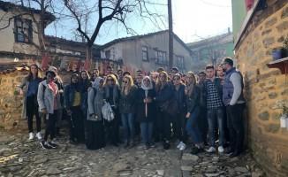 Uluslararası öğrenciler Bursa'yı gezdi