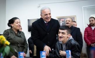 Ümraniye Belediye Başkan adayı Yıldırım engelli vatandaşlarla buluştu
