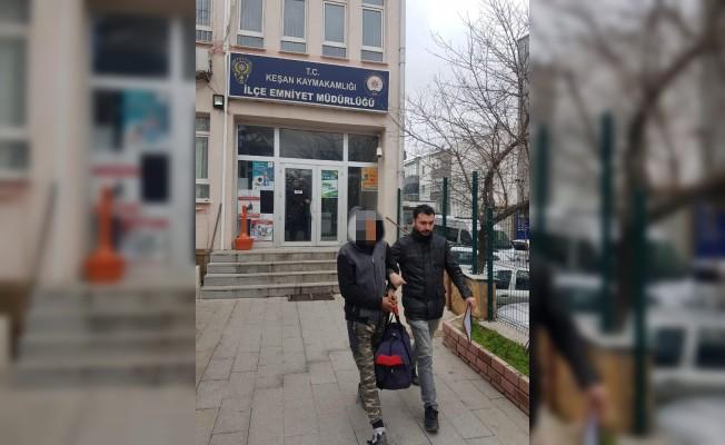 Uyuşturucu kullanan şahıs tutuklandı