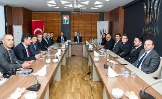 Vali Bilmez'den DAKA ile Gençlik ve Spor İl Müdürlüğüne ziyaret
