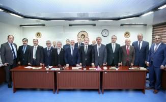 Vali Pehlivan İl Genel Meclisi Şubat ayı toplantısına katıldı
