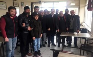 Vali Pehlivan küçük sanayi sitesi esnafını ziyaret etti