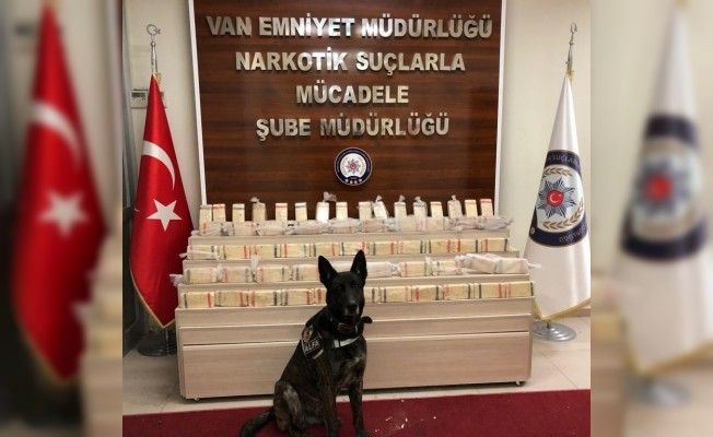 Van polisi 2018 yılında 6 ton 417 kilo uyuşturucu ele geçirdi