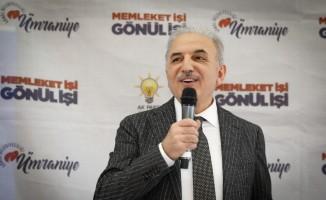 """Yıldırım: """"Ümraniye'de yeni metro hatları ile önümüzdeki 5 yıl içerisinde ulaşım sorunu kalmayacak"""""""