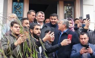 Ziyaret ettikleri Belediye Başkanı'na destek sözü