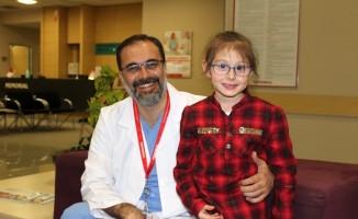 6 buçuk yaşındaki Seher karaciğerindeki kitlelerden kurtuldu