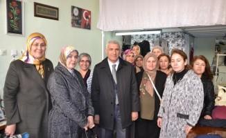 AK Parti Battalgazi Adayı Güder, gezilerini sürdürüyor