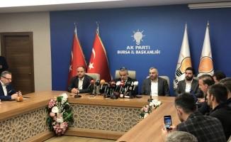 AK Parti Bursa İl Başkanlığından ilk açıklama!