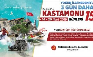 Ankara'daki Kastamonu Günlerine yoğun ilgi