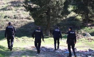 Bacanağını öldüren zanlıyı polis ormanda drone ile aradı