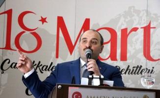 Bakan Varank Amasya'da Binali Yıldırım'a destek istedi