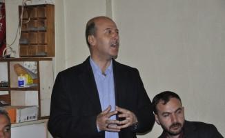 Başkan Bozkurt'tan çarşı esnafına ziyaret