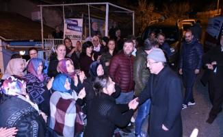 Başkan Vergili'ye vatandaşlardan yoğun ilgi