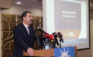 Baydilli Karaköprü'yü kalkındıracak projelerini açıkladı
