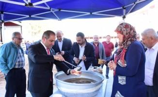 Çanakkale ruhu üzümün başkenti Alaşehir'de yaşatıldı