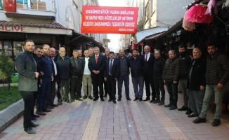 Cordanoğlu Sokak sakinlerinden Başkan Kılıç'a teşekkür