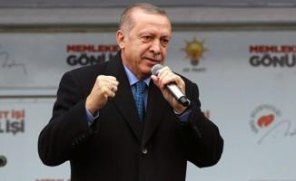 Cumhurbaşkanı Erdoğan'dan  İzmir'de önemli açıklamalar