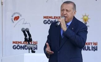 Cumhurbaşkanı Erdoğan: Terörün kaynağı İslam dünyası diyemezsin